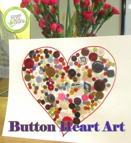 button heart craft