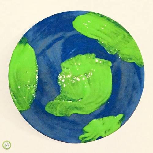 earth day handprint craft