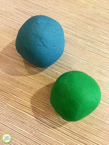 playdough geography