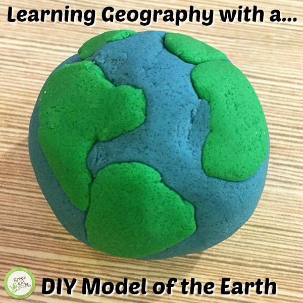 diy model of the earth