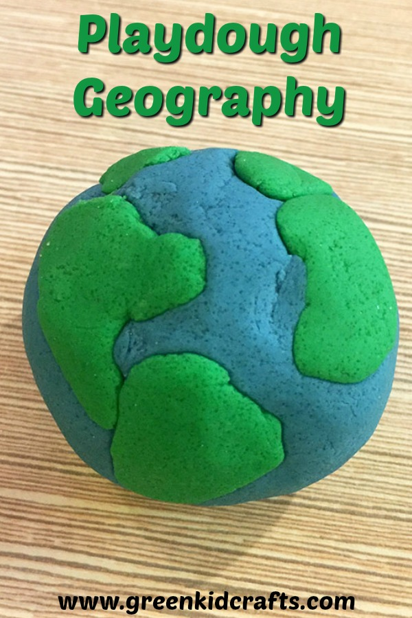 Learn geography with a diy playdough earth activity! Build a model of the earth.