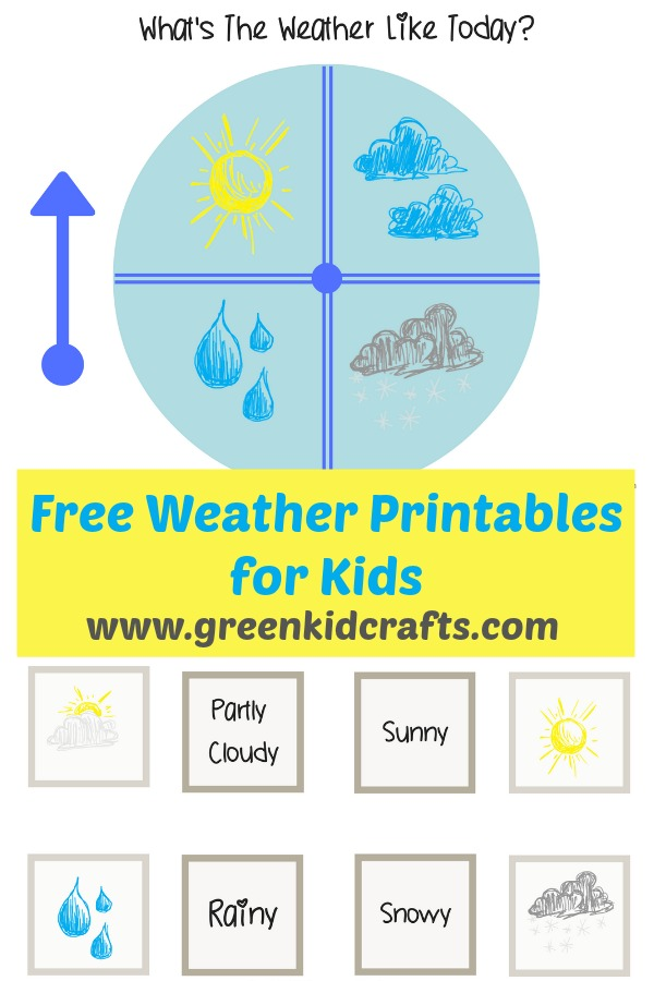weather tracking activity with weather printables green kid crafts