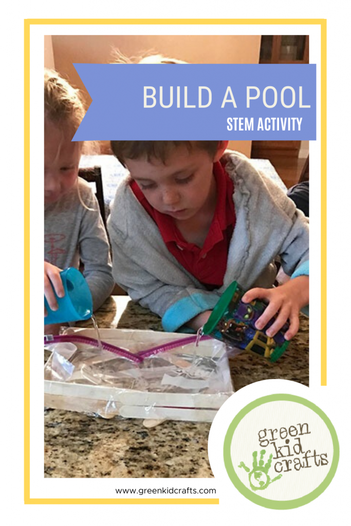 Build a pool, a STEM activity