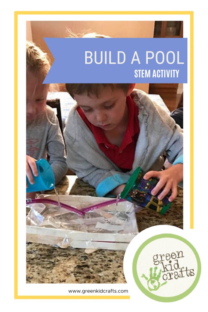 Build a pool, a STEM activity