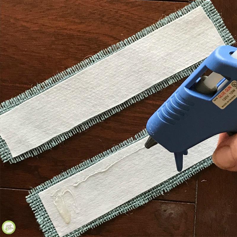 DIY No-Sew Fabric Bookmark Craft for Kids - Green Kid Crafts