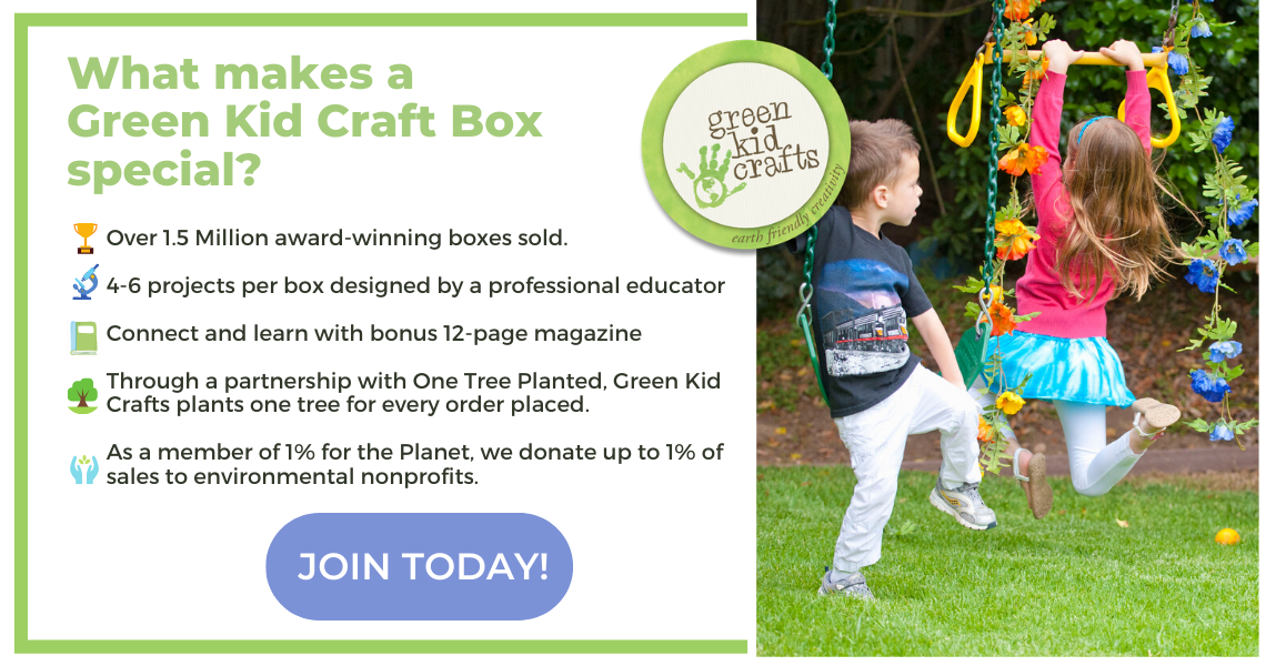 Join Green Kid Crafts today!