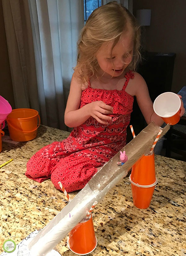 water slide stem activity