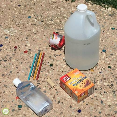 diy bottle rocket