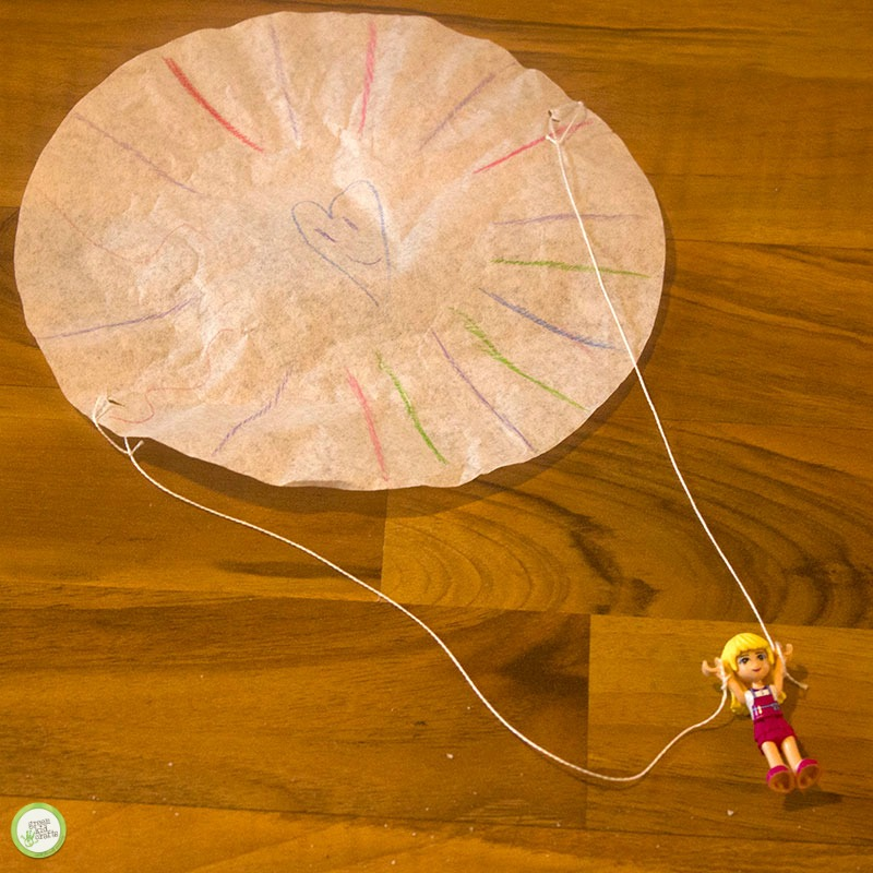 How To Make A Diy Parachute For Small Toys Green Kid Crafts