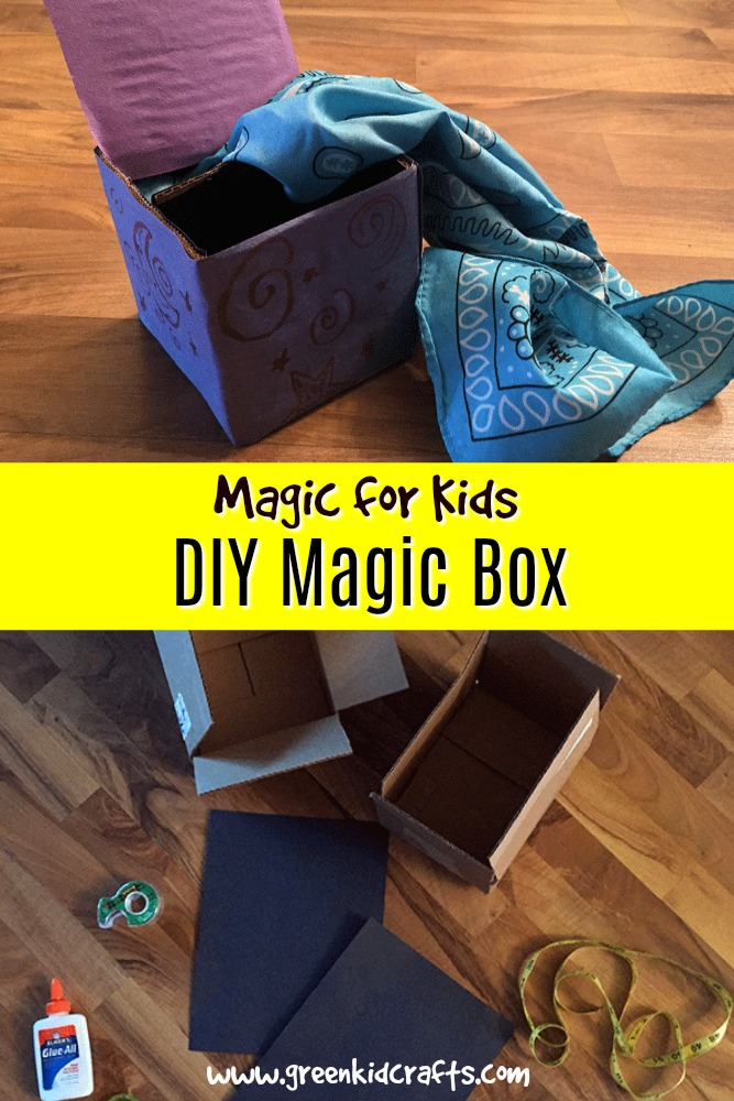 Make a magic box that hides small items from your audiences view. Trick family and friends with this easy diy magic box.