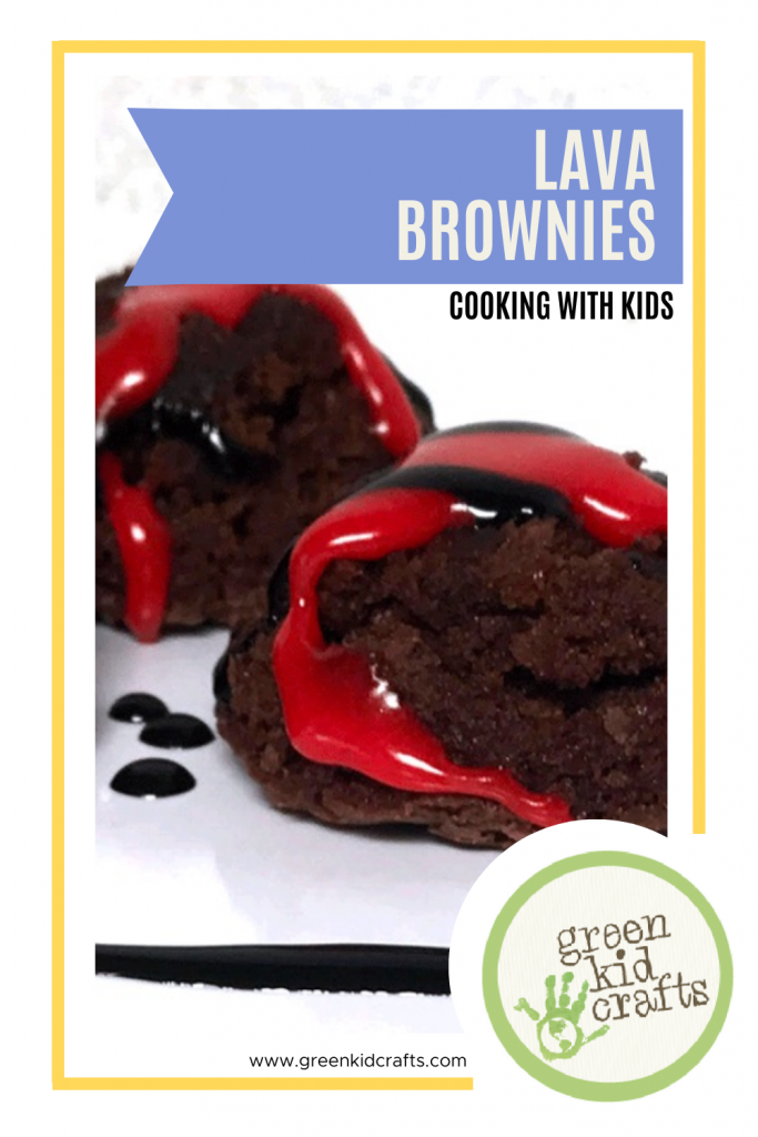 Lava Brownies