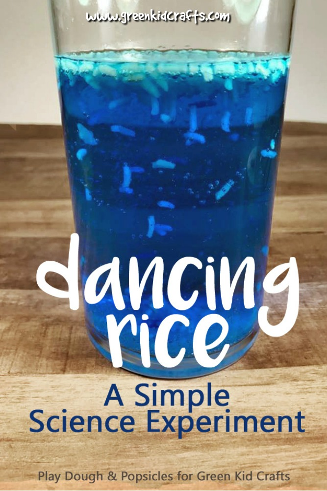 Science For Kids Magic Dancing Rice Experiment Green Kid Crafts