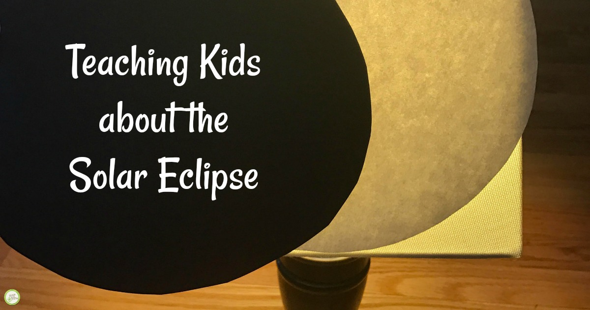 Teaching kids about the solar eclipse.