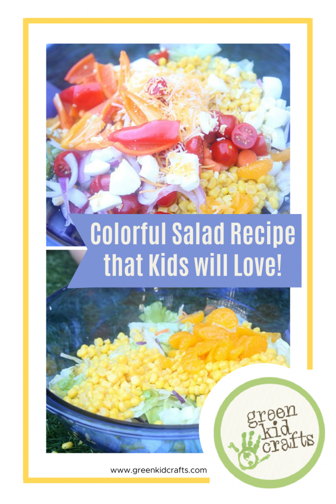 colorful salad recipe