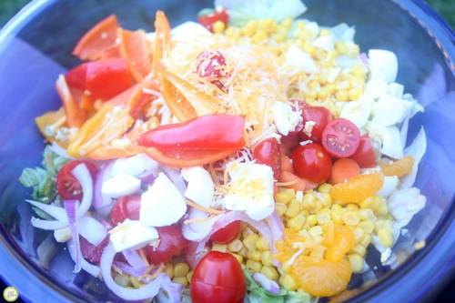 colorful salad recipe