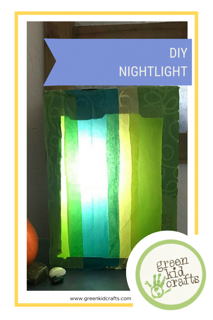 DIY Colorful Nightlight