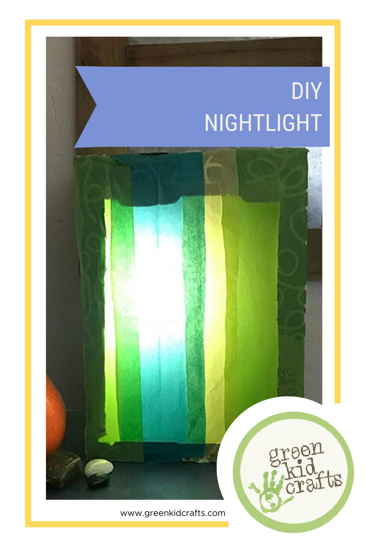 DIY Colorful Nightlight