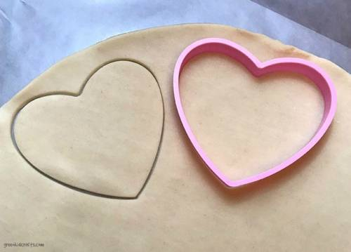 valentine's day heart shaped hand pie recipe