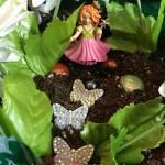 Make a fairy garden from a small box for small world play. #fairygarden #smallworldplay