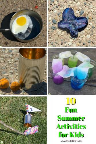 10 Fun summer activities for kids.