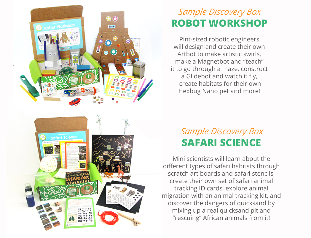 Sample Discovery Boxes