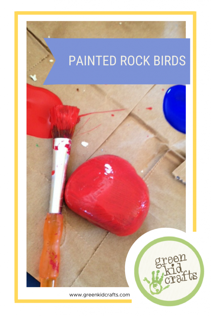 Painted Rock Birds