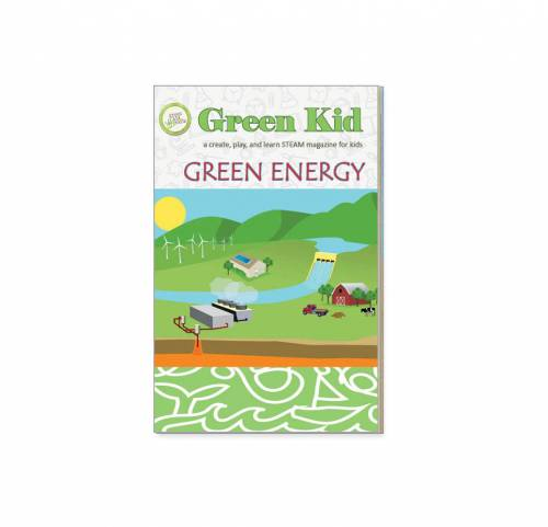 Looking for educational magazines, books, science kits, monthly crafts for kids, monthly subscriptions for kids, a monthly craft box or kids craft subscription? Green Kid Crafts, kids craft subscription and maker of the best subscription boxes, including award-winning arts and craft subscription boxes and best monthly subscription boxes, is now offering Green Kid Magazine. Green Energy is a magazine that all kids will enjoy.