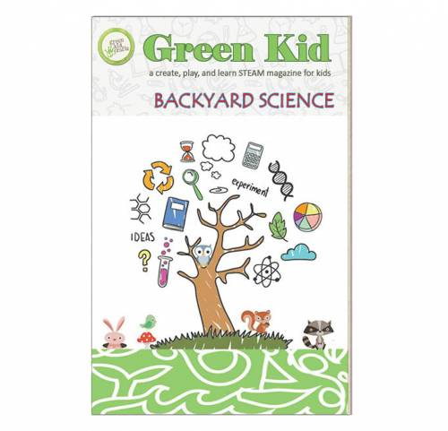 Looking for educational magazines, books, science kits, monthly crafts for kids, monthly subscriptions for kids, a monthly craft box or kids craft subscription? Green Kid Crafts, kids craft subscription and maker of the best subscription boxes, including award-winning arts and craft subscription boxes and best monthly subscription boxes, is now offering Green Kid Magazine. Backyard Science is a magazine that all kids will enjoy.