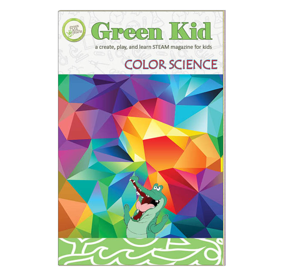Color Science Magazine Green Kid Crafts