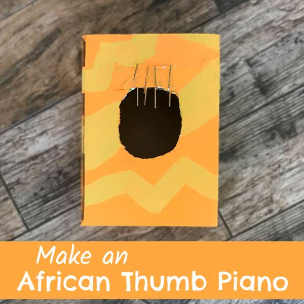 African thumb piano