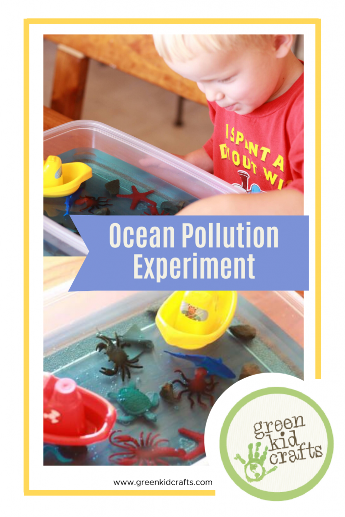 ocean pollution experiment