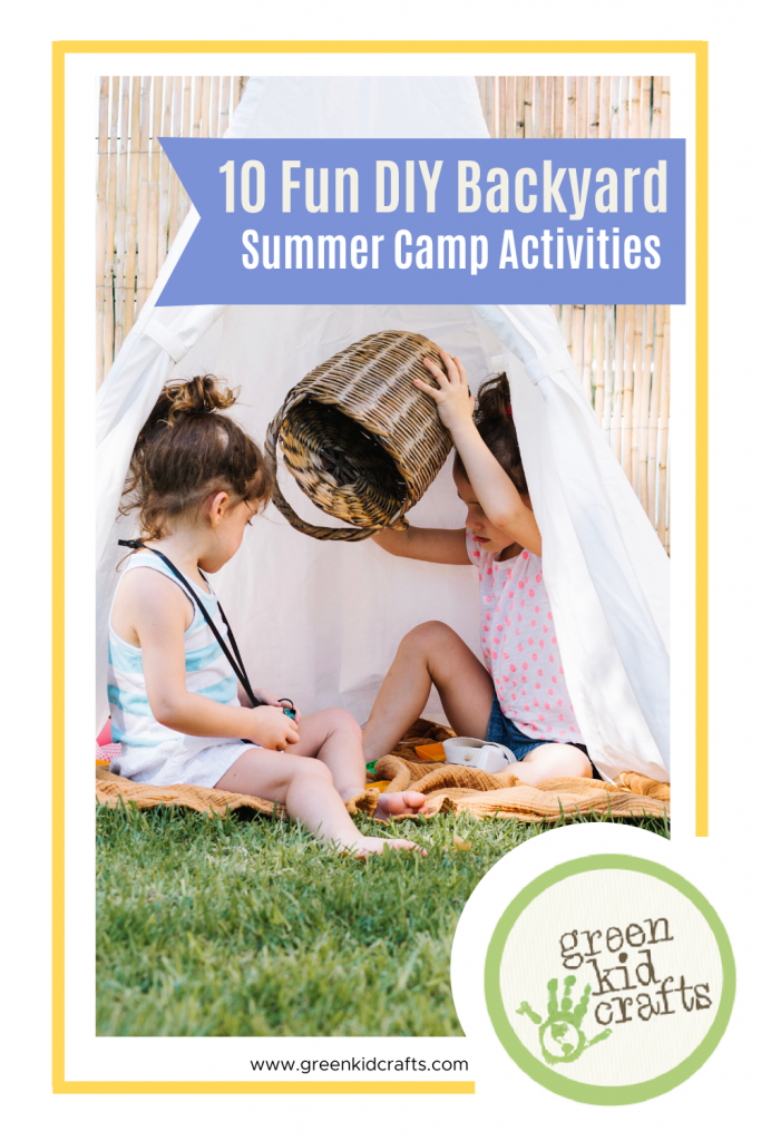 summer backyard activities for kids