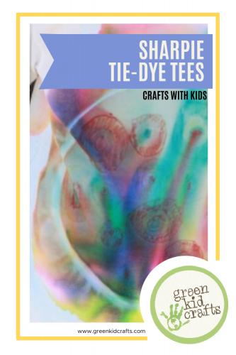 Sharpie Tie Dye Shirts