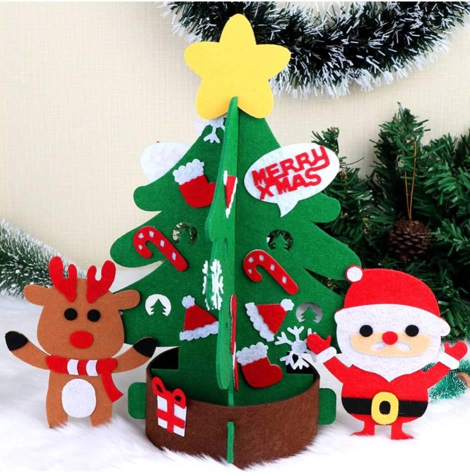Image of Tabletop Felt Tree Kit