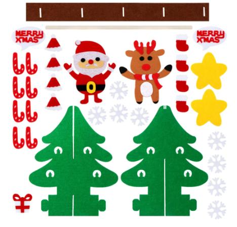 Felt Christmas Tree Kit