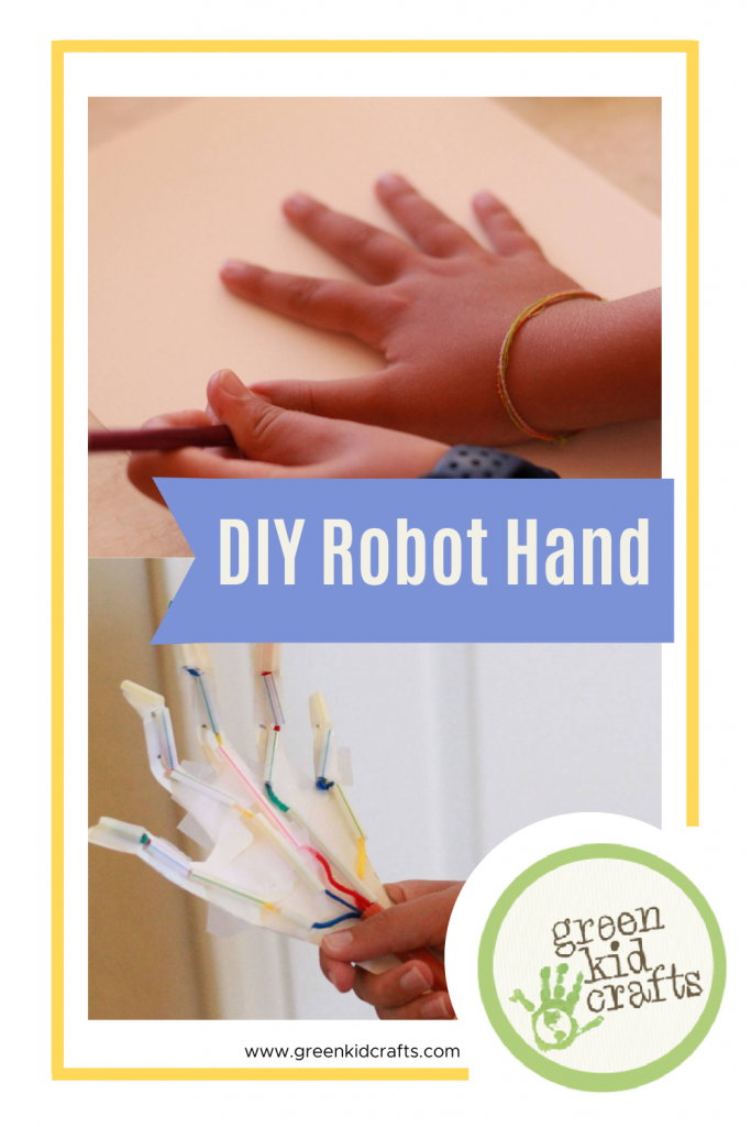 diy robot hand steam activities