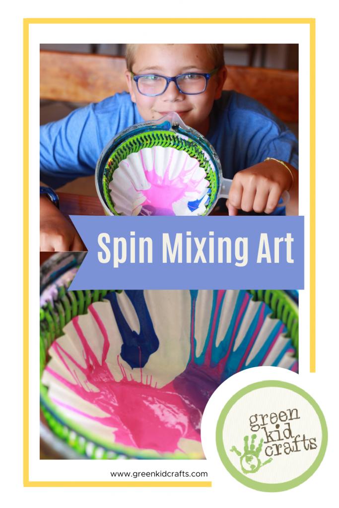 spin mixing art