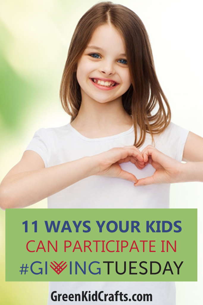 11 ways your kids can participate in Giving Tuesday