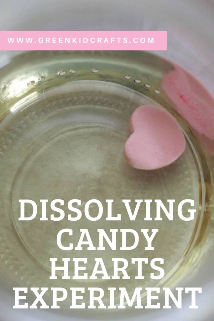 Dissolving Candy Hearts - Looking for educational toys, science kits, monthly crafts for kids, monthly subscriptions for kids, a monthly craft box or kids craft subscription? Green Kid Crafts, kids craft subscription and maker of the best subscription boxes, including award-winning arts and craft subscription boxes and best monthly subscription boxes has what you're looking for!