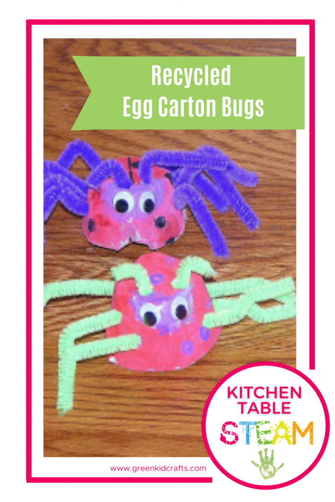 egg carton bugs crafts