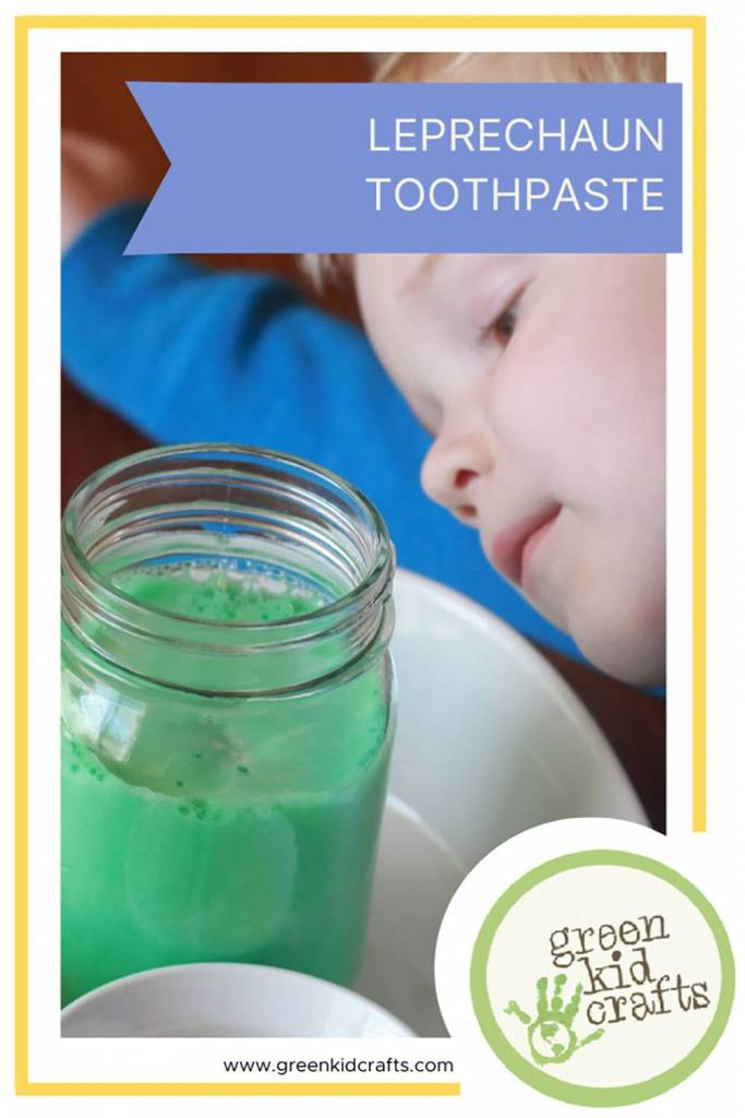 Leprechaun Toothpaste