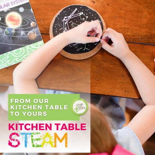 kitchen table steam for kids